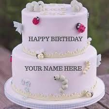 Happy Birthday Cake Name Edit Best Wishes Birthdaycakeformancf