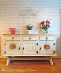 Preloved Bedroom Furniture Vintage Old Charm Solid Oak Sideboard Dresser Large Cupboard