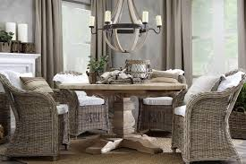 wicker dining room chairs