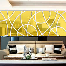 abstract art acrylic mirror wall sticker diy 3d wall decals bedroom living room entrance bathroom wall on diy 3d mirror wall art with abstract art acrylic mirror wall sticker diy 3d wall decals bedroom