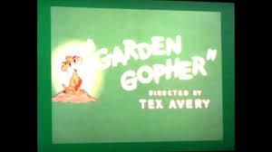 garden gopher 1950 intro on ps4