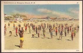 Hampton Beach Tide Chart Pin On Vintage Postcards