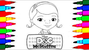 Learn Colors Disney Junior Doc Mcstuffins Coloring Pages L Kids