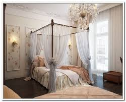 Popular of Four Poster Bed Curtains Drapes Ideas with Canopy Curtain ...