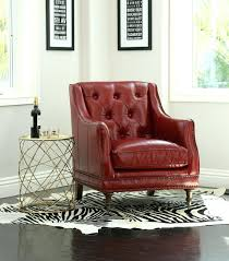 red leather club chair christopher knight home oxblood bonded tub faux and ottoman