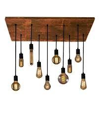 10 edison bulb industrial chandelier pendant lights reclaimed wood rustic lighting modern dining chandelier led edisonbulbs chandelier pendant lighting
