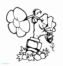 Plants Vs Zombies Peashooter Coloring Pages At Getcoloringscom