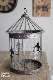 diy birdcage lamp in under 5 minutes no electrical work required bless