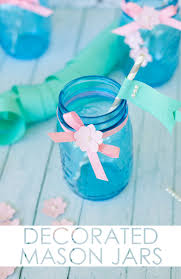 Diy Decorative Mason Jars DIY Decorated Mason Jars Project Nursery 46