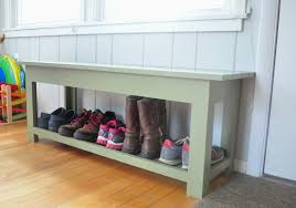 Image of: Narrow Entryway Shoe Storage