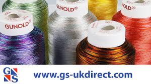 Gunold Machine Embroidery Designs Gunold Ombre And Multicolour Embroidery Thread