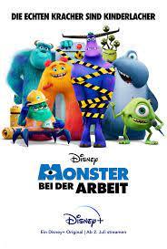 Monsters at Work: Trailer zur Serie ...