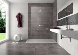 Dark Grey and Cream Bathroom Wall Tiles