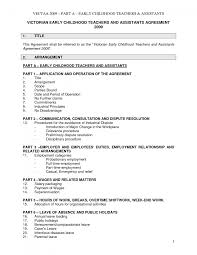 resume examples early childhood education resume sample early resume sample for early childhood