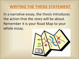 fictional narrative 9 writing the thesis statementin a narrative essay