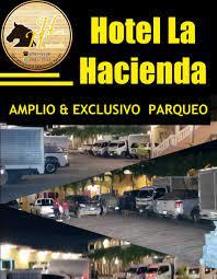 Hotel La Hacienda cuenta con parqueo... - Hotel La Hacienda