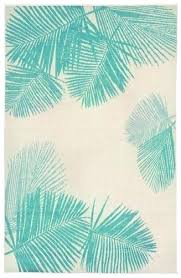 palm leaf rugs green leaf area rug indoor outdoor tropical rugs terrace palm area rug turquoise