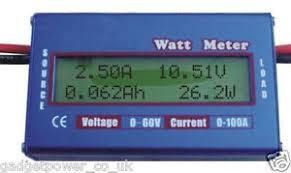 dc amp volt meter simple dc power analyser watt volt amp meter 12v 24v solar wind analyzer ammeter