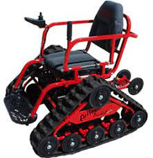 All Terrain Action Trackchair Wheelchair - New Products
