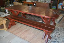 Indoor Picnic Style Dining Table Table Desk Portable Outdoor Picnic Camping Dining Party Picnic