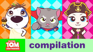 crazy games talking tom and friends minis cartoon pilation 22 minutes
