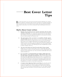 Resume Cover Letter Tips Best Resume Cover Letter 25955509
