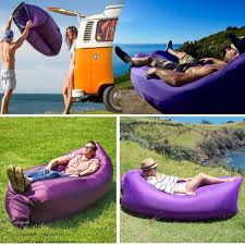 inflatable garden furniture. Easy-to-Inflate Inflatable Lounger Chair Couch For Adults, Sturdy Air Garden Furniture E