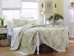 Laura Ashley Bedroom Chairs Amazoncom Laura Ashley Rowland Quilt Set King Sage King