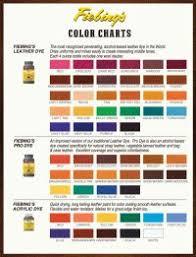 Fiebings Suede Dye Color Chart Fiebings Suede Dye Colour Chart Fiebings Paint Dye