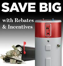geospring hybrid electric heat pump hot water heater ge appliances rebates in your area