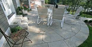 Backyard Concrete Designs Enchanting Concrete Patio Ideas Decoration Home Gardens