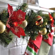 pretentious design decorations garland garlands uk lights ideas fireplace ceiling