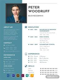 Free Resume Templates 2015 Free Business Resume Template Word Psd Indesign