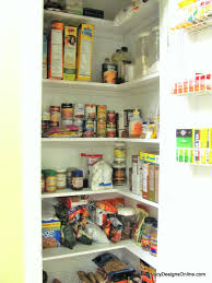 Kitchen Pantry Shelf Kitchen Pantry Makeover Diy Installing Wood Wrap Around Shelving