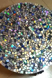mosaic table top diy ideas heater