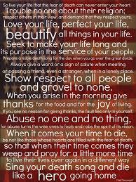 Tecumseh Quotes Simple Tecumseh Poems
