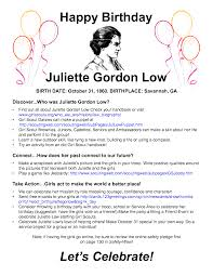 Juliette Gordon Low Birthday Bash Perfect