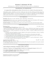 Radiologic Technologist Resume Examples Cool Radiology Technician Resume Radiology Technician Resume Tech Resume