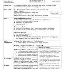 Housekeeping Job Resume Resume Sample Housekeeping Manager Luxury