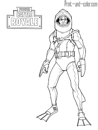 Fortnite Battle Royale Coloring Page Chomp Sr Jamess Board In