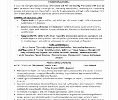 Police Officer Resume Samples 60 Police Officer Resume Example Best of Resume Example 55