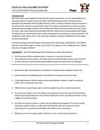 the best and worst topics for logical fallacies essay lesson study in english composition identifying logical