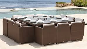 12 Seat Outdoor Dining Table Design Pacific 12 Seater Dining Set Buy Online At Luxdeco