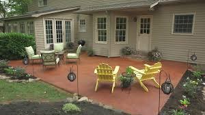 ... Transform A Concrete Patio: After: extraordinary 2017 patios ideas ...