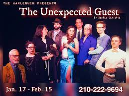 """The Harlequin - Introducing the cast of """"The Unexpected... 