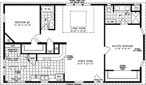 manufactured home floor plan the t n r model tnr 4463b 2 bedrooms