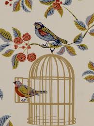 vintage birdcage wallpaper. Beautiful Birdcage Vintage Charm Blue Bird Cage Wallpaper UK 750x1000 For Birdcage N