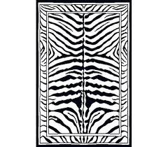 product reviews black and white zebra rug faux