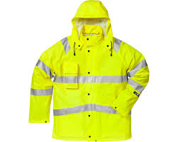 Fristads 4845 Rshf Hi Vis Rain Jacket