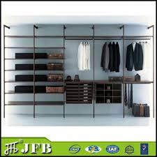 china silver and black color aluminum wardrobe fittings wardrobe stanchions shelving polesystem wardrobe supplier